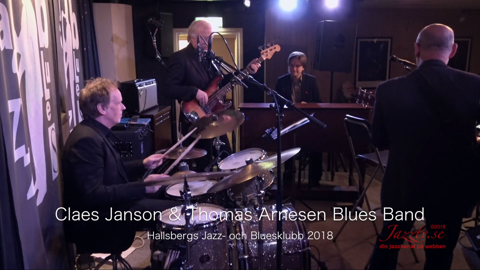 Claes Janson / Thomas Arnesen Blues Band