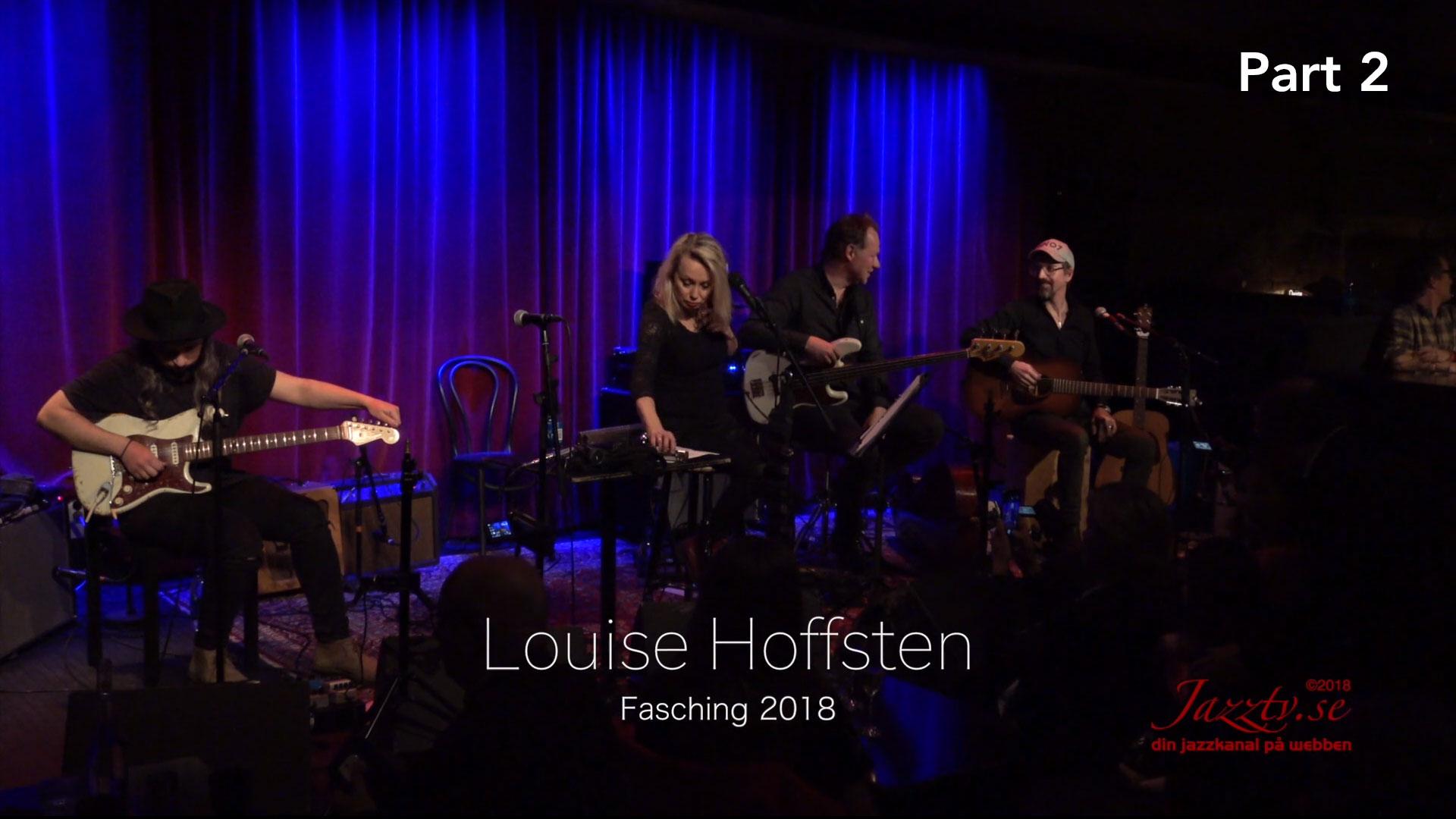 Louise Hoffsten Fasching 2018