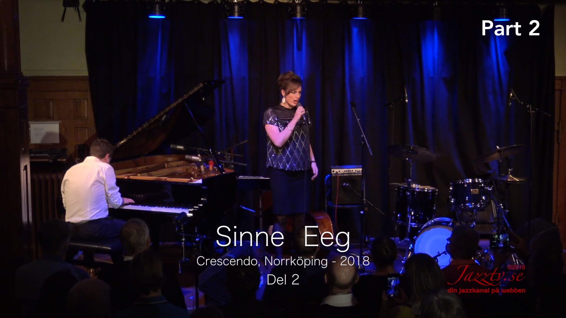 Sinne Eeg Crescendo 2018