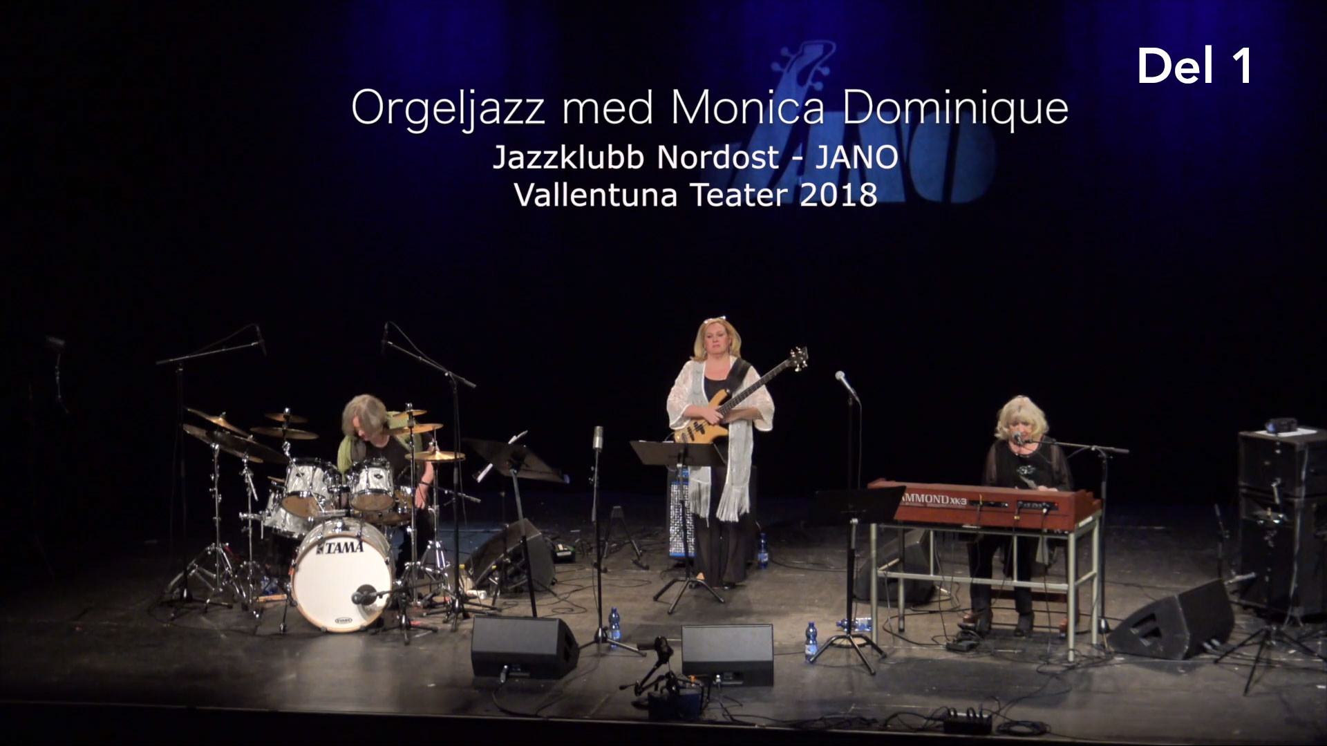 Orgeljazz med Monica Dominique, Amanda Sedgwick & Hayati Kafe