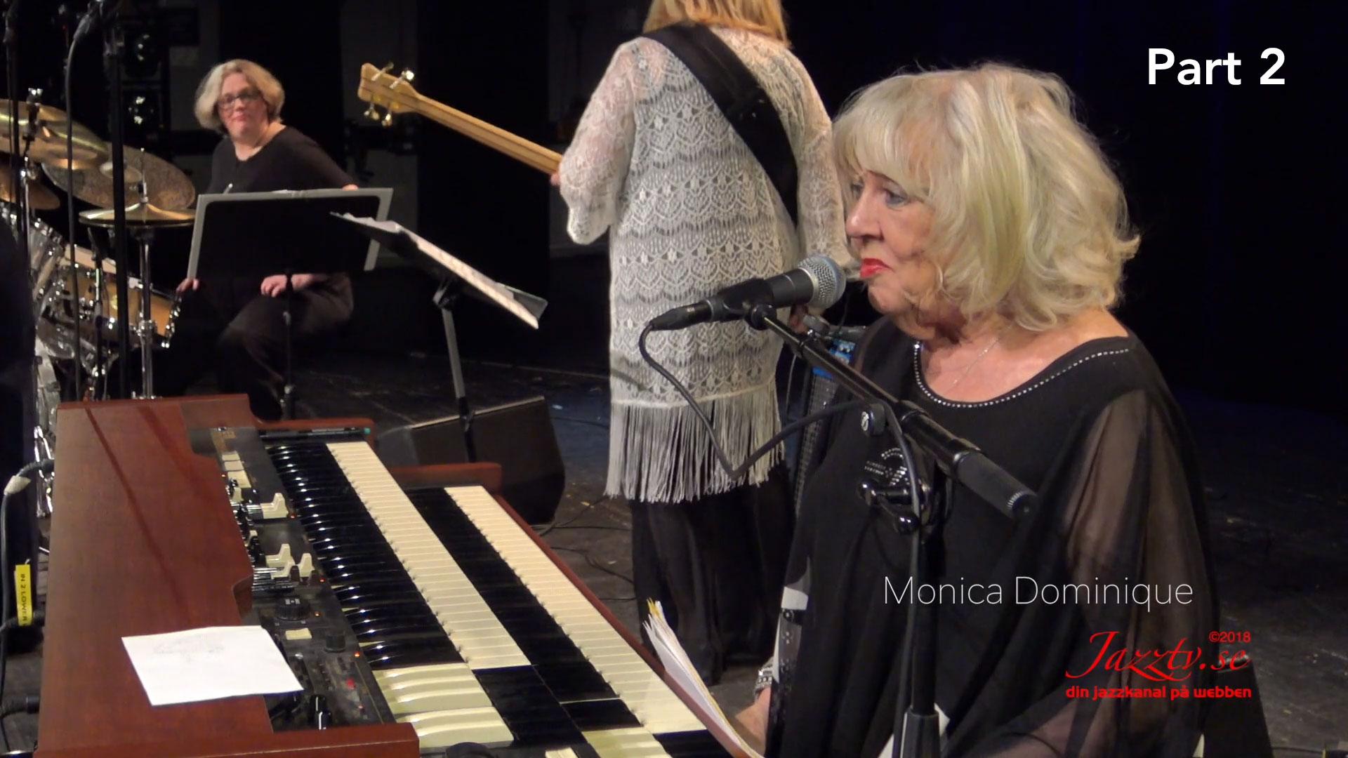 Organ jazz with Monica Dominique, Amanda Sedgwick & Hayati Kafe