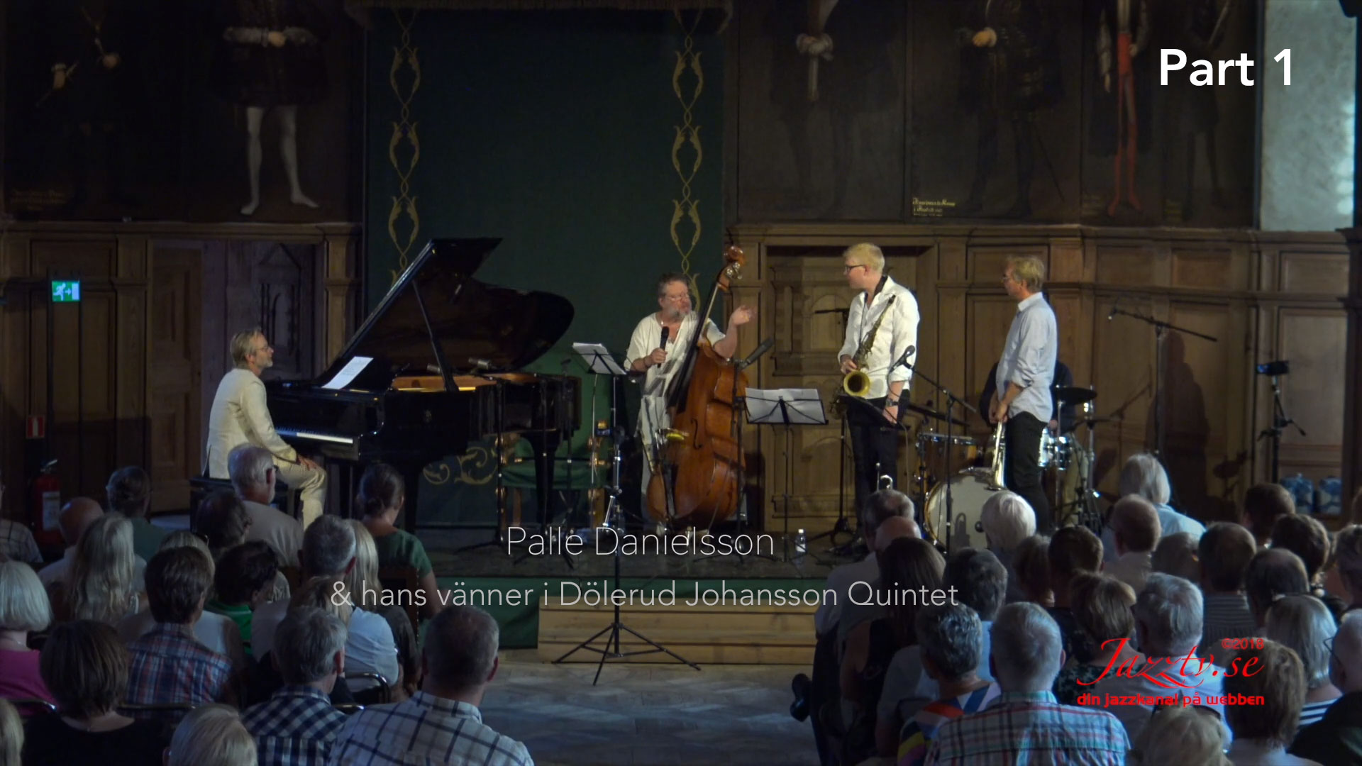 Palle and his friends in Dölerud Johansson Quintet - Part 1