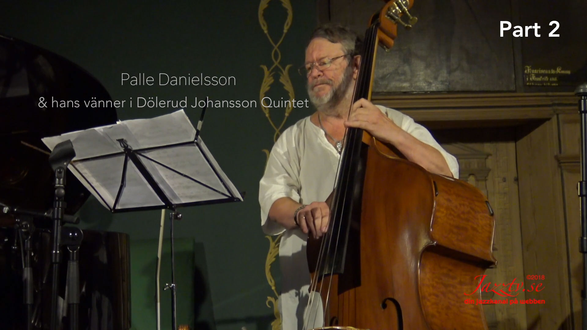 Palle and his friends in Dölerud Johansson Quintet - Part 2