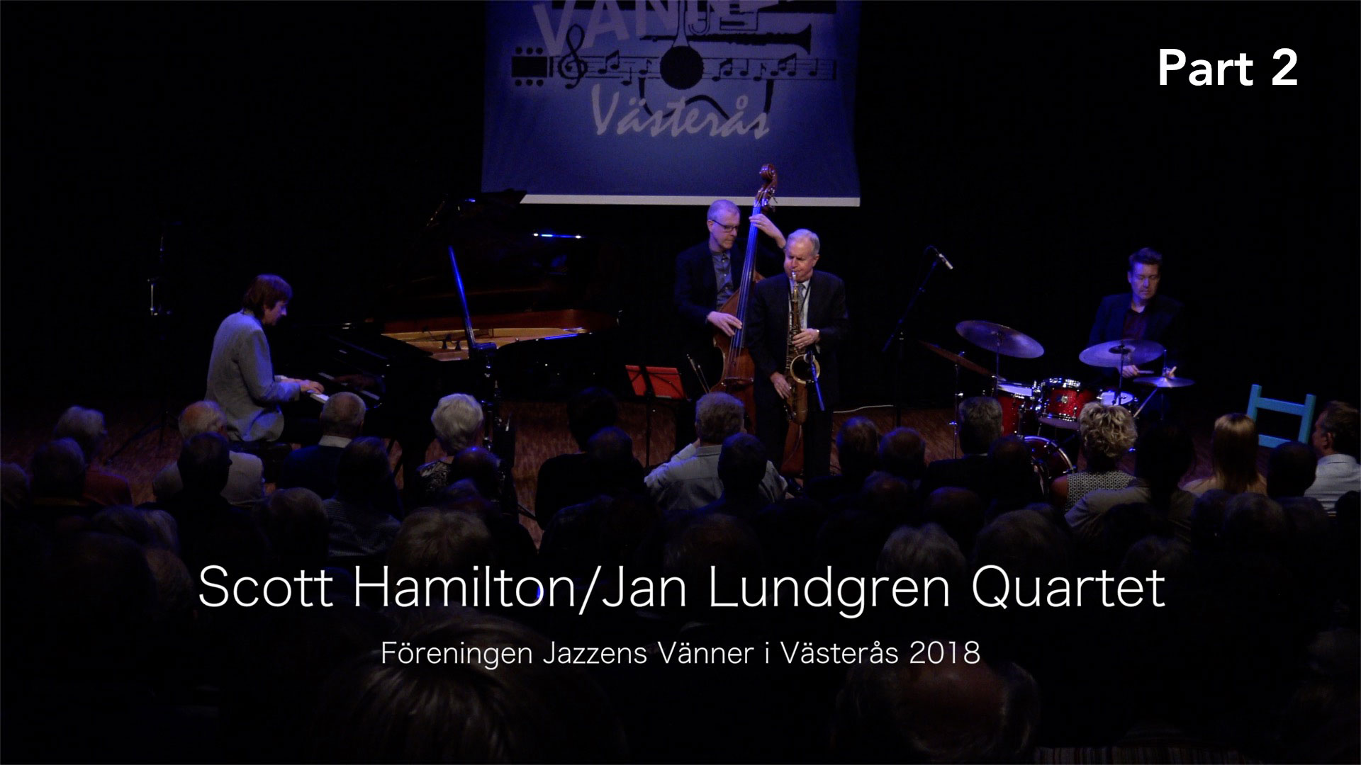 Scott Hamilton:Jan Lundgren Quartet