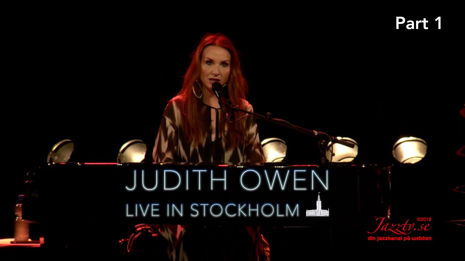 Judith Owen - Live in Stockholm