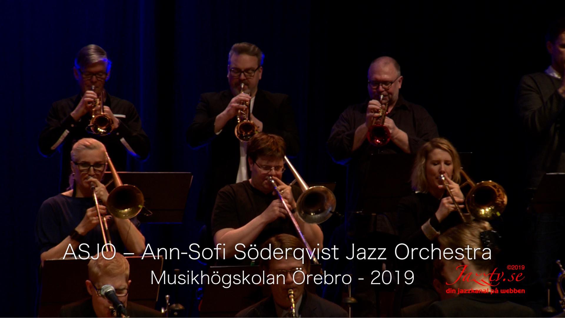ASJO - Ann-Sofi Söderqvist Jazzorkester