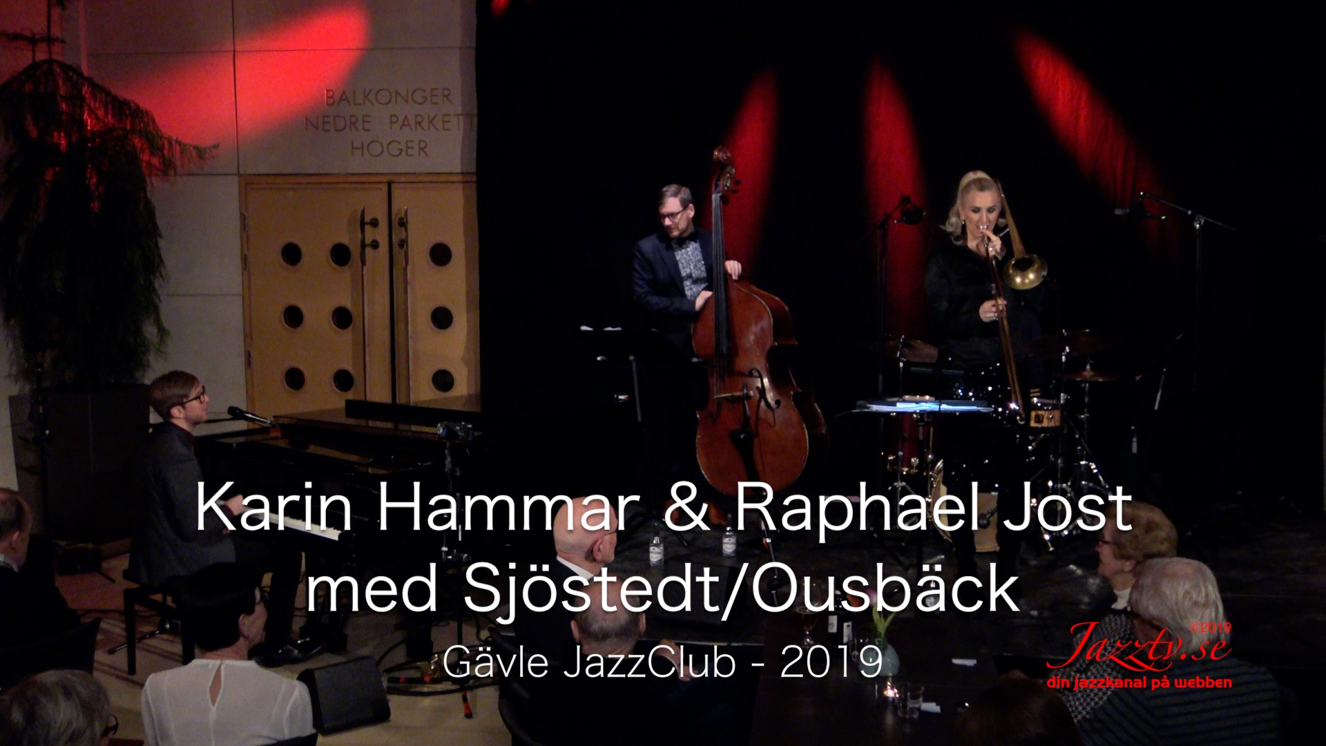 Karin Hammar & Raphael Jost with Sjöstedt/Ousbäck