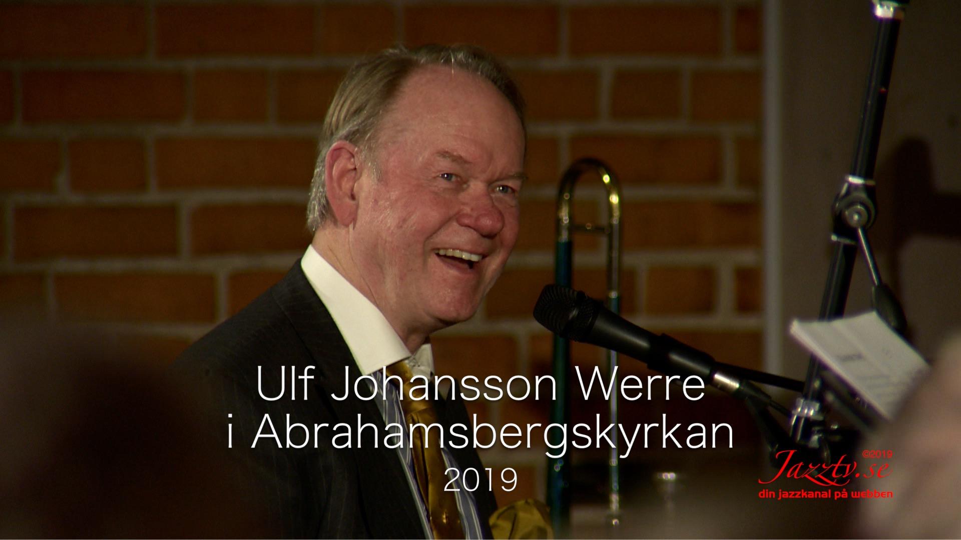 Ulf Johansson Werre i Abrahamsbergskyrkan